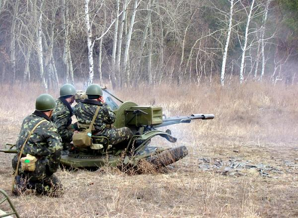 ...установок ЗУ-23-2. Согласно плану боевой подготовки личного состава...
